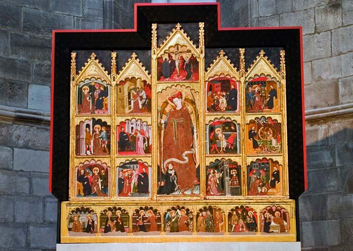 retablo catedral Tudela